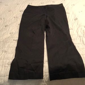Black cotton pants from AT